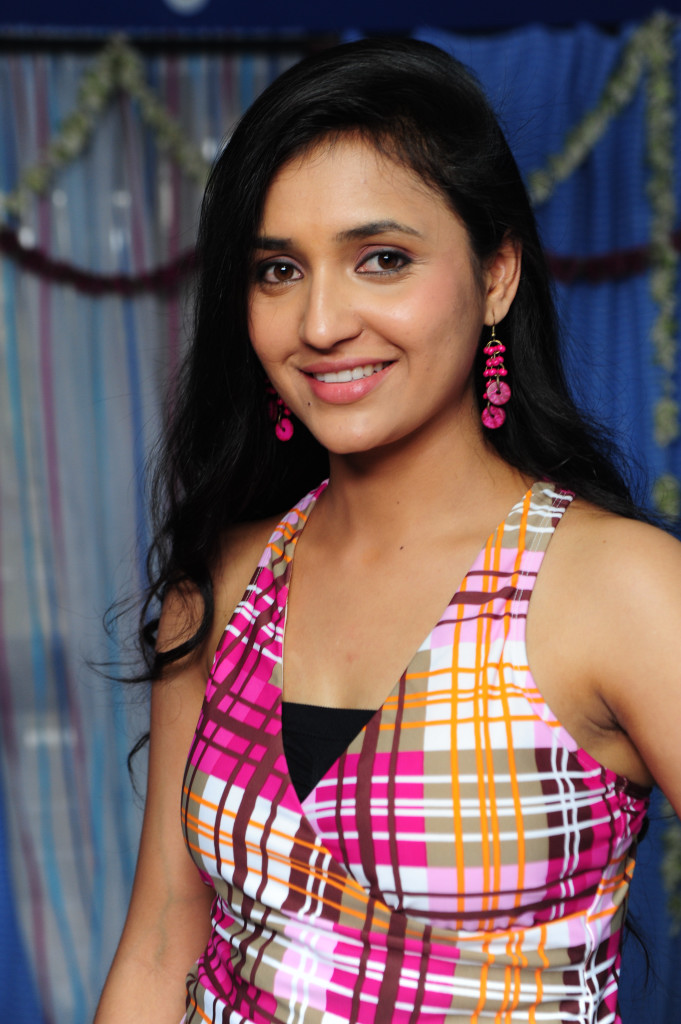 Pretty and cute Sarayu Stills in Pink Top