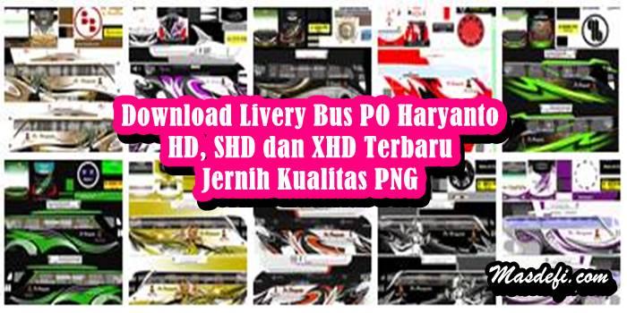 livery bussid haryanto