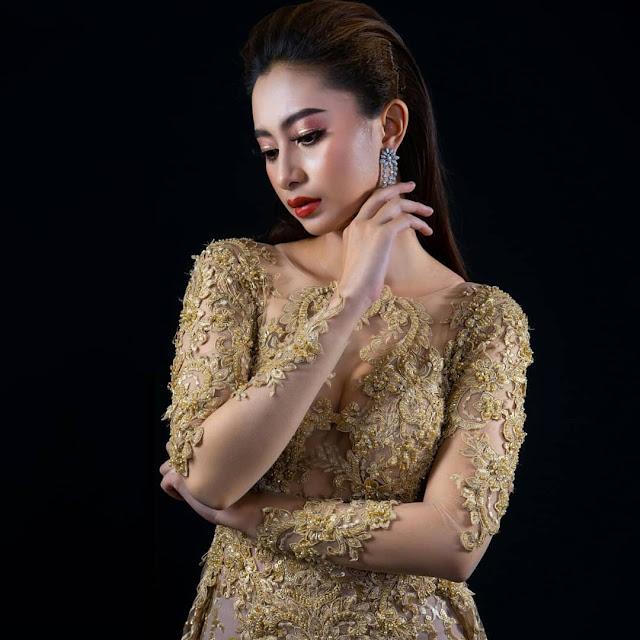 Anggia Kloer Berkarir Sebagai Model Profesional