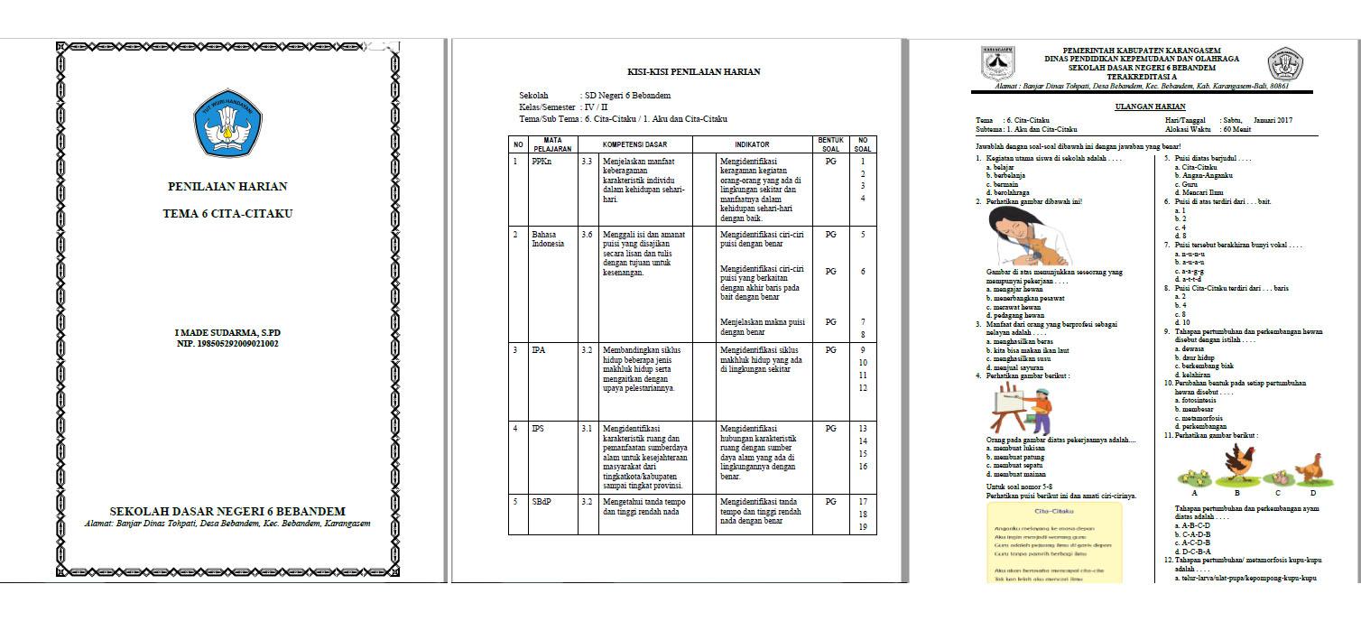 Rpp Tematik Kelas Subtema 4 Rpp Tematik Kelas 4 Sd Mi Kurikulum Download File Pendidikan Rpp