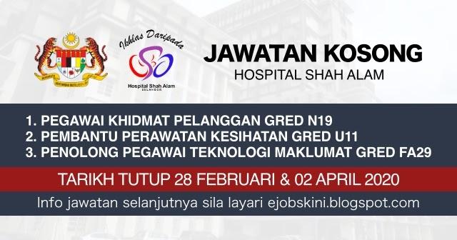 Jawatan Kosong Hospital Uitm Puncak Alam Weeepsa