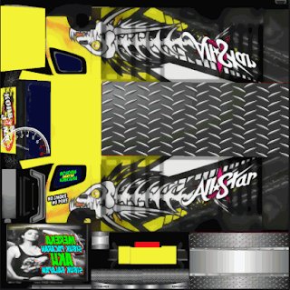 Download Livery Truck All Star