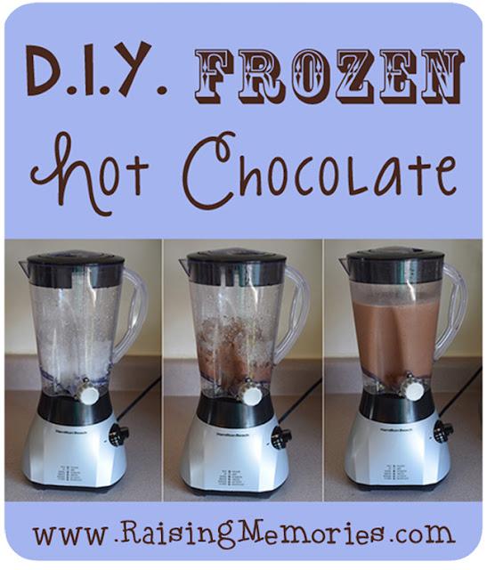 DIY Frozen Hot Chocolate Recipe