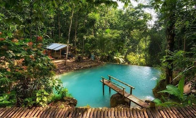 Wisata Air Terjun Kembang Soka, Tempat Menikmati Segarnya air Pegunungan