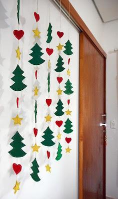 Decoração natalina diy