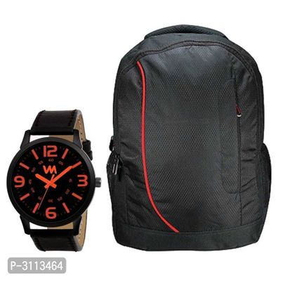 Watch With Laptop Bag For Men