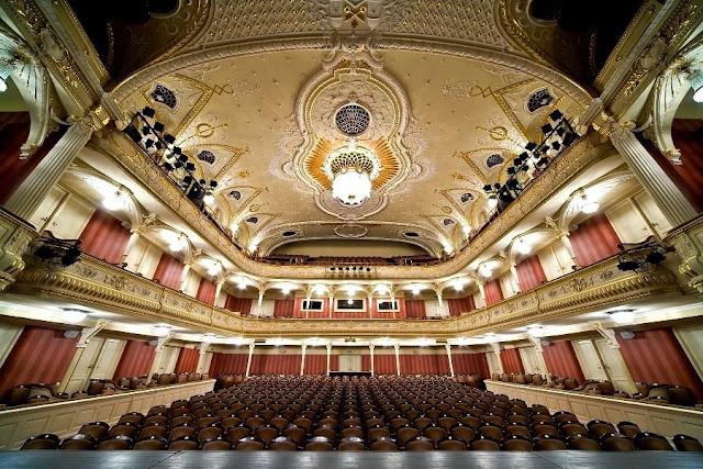Зрительный зал Латвийского Национального театра