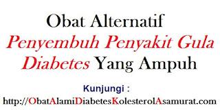 Obat alternatif penyembuh penyakit gula diabetes yang ampuh