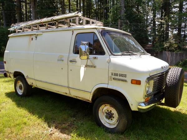 1976 GMC G35 Vandura 4x4 Conversion