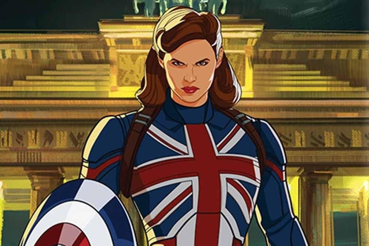 Captain Carter Poster for Marvel Studios' 'What If...?' :「ドクター・ストレンジ 2」の「マルティバース・オブ・マッドネス」にも登場するのでは…? ! と期待されているアニメの配信シリーズ「What If...?」のキャプテン・カーターのポスター ! !