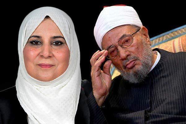 طليقة القرضاوى أسماء بن قادة تكشف اسرار الشيخ المراهق