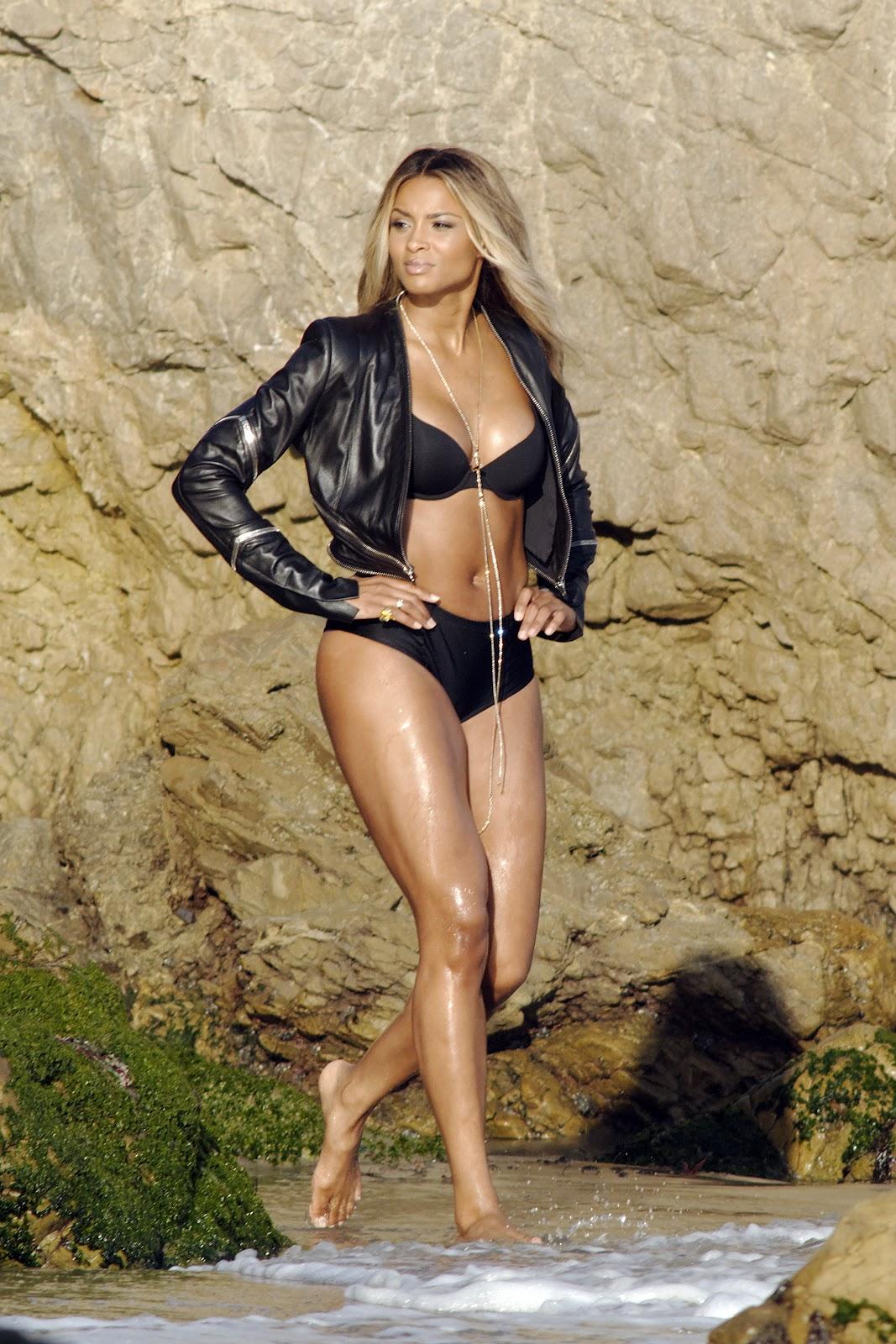 Ciara - Bikini in Malibu   Just FAB Celebs