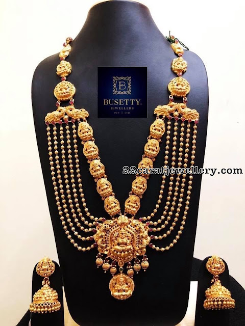 Antique Gold Balls Chain by Busetty Jewellers