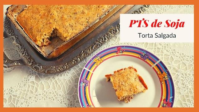 Torta Salgada de PTS de soja