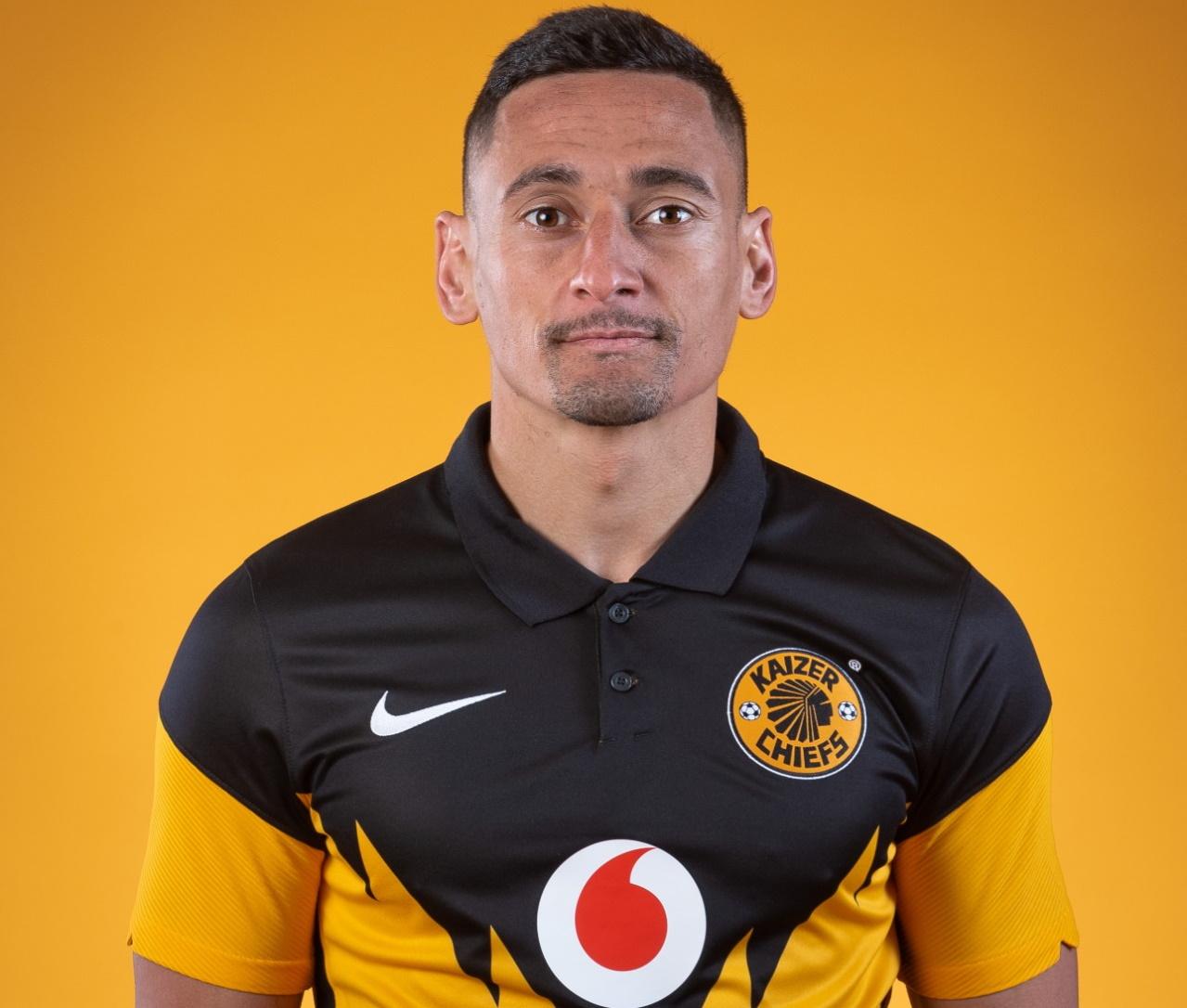 Kaizer Chiefs midfielder Cole Alexander