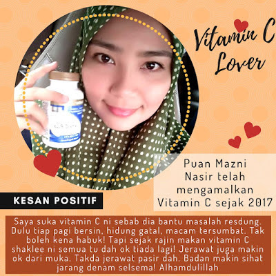 Manfaat Sustained Release Vita-C Plus Shaklee dan Testimoni, vitamin C,
