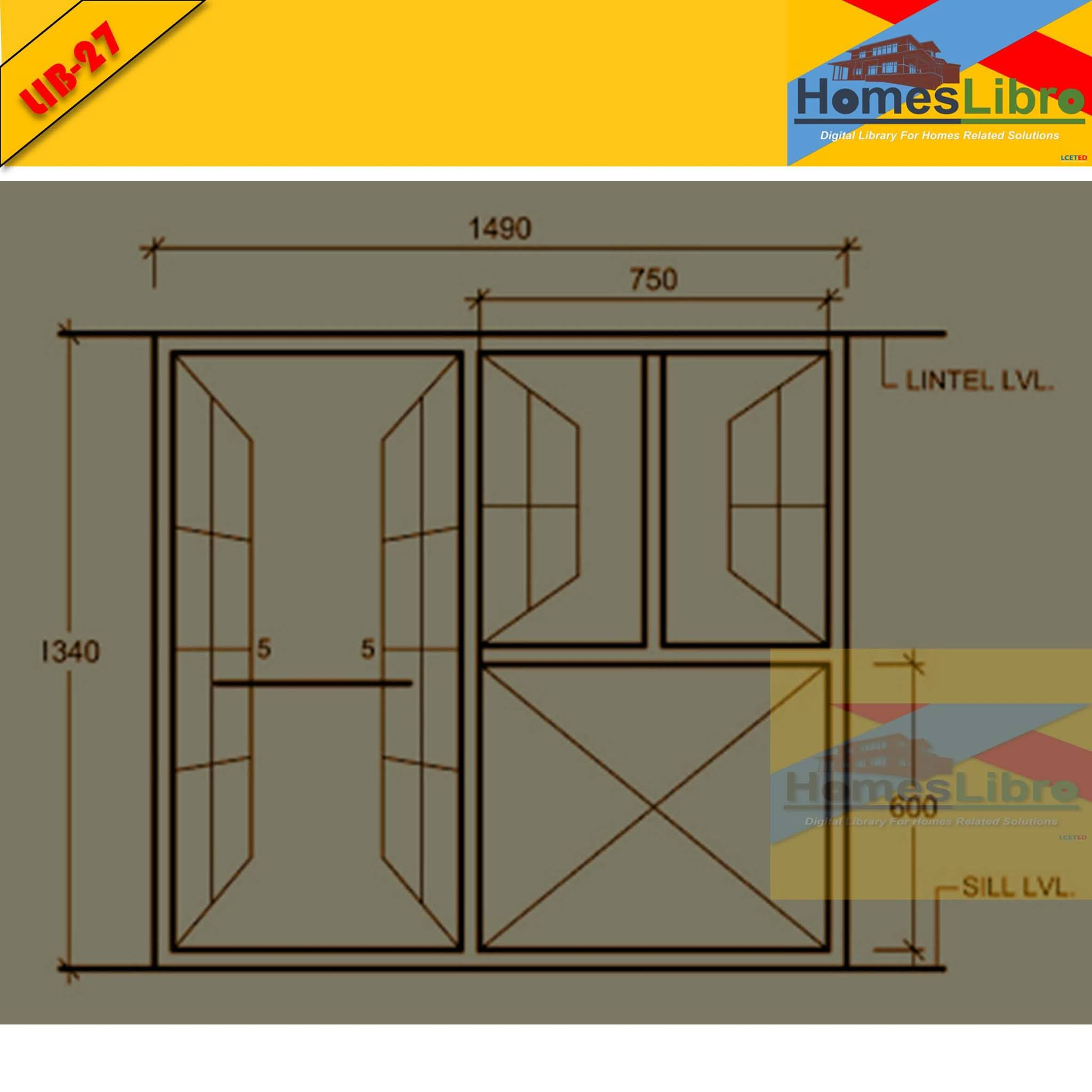 STANDARD SIZES OF DOORS & WINDOWS
