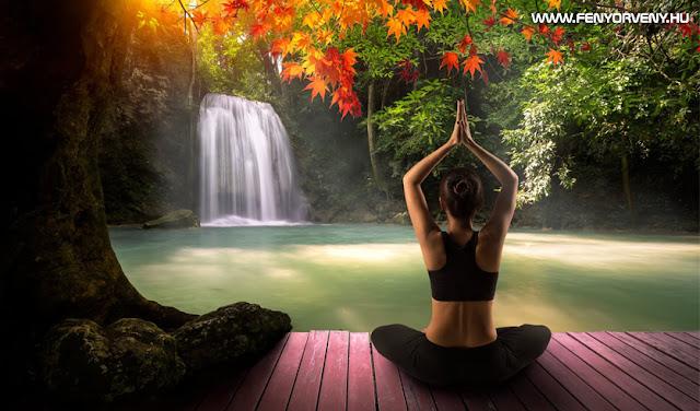 """Az """"öröm átélése"""" meditáció"""