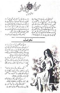 Meri Zindgai Hai Tu By Nida Ali Abbas Urdu Novel Free Download Pdf