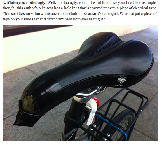 things that look like bicycle seats