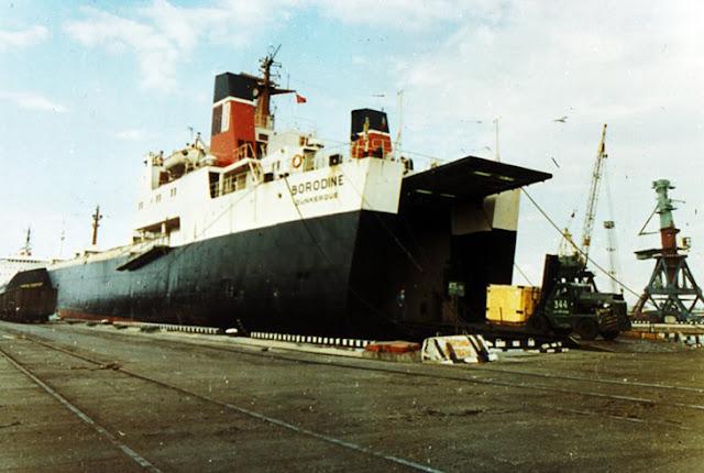 морской порт в риге