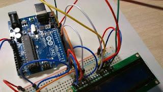 Conexion del lcd y arduino