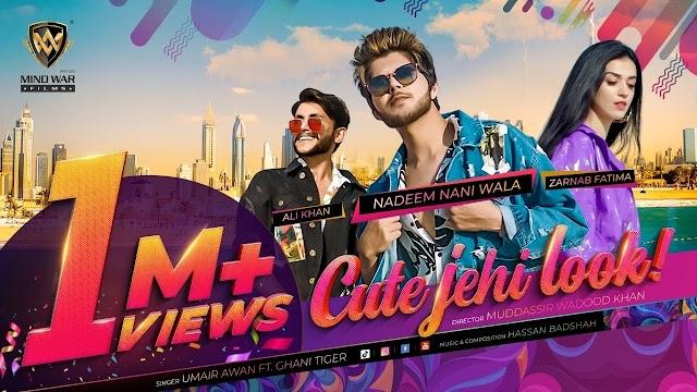 Cute Jehi Look Lyrics - Umair Awan & Ghani Tiger