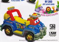 Ride-on Car Royal RY203 Jeep Safari Series
