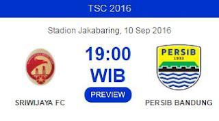 Prediksi Sriwijaya FC vs Persib Bandung  TSC 2016
