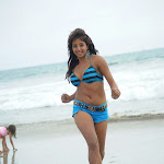 Telugu Actress Sanjana Hot Stills In Shorts