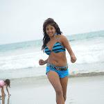 Telugu Actress Sanjana Hot Stills In Shorts
