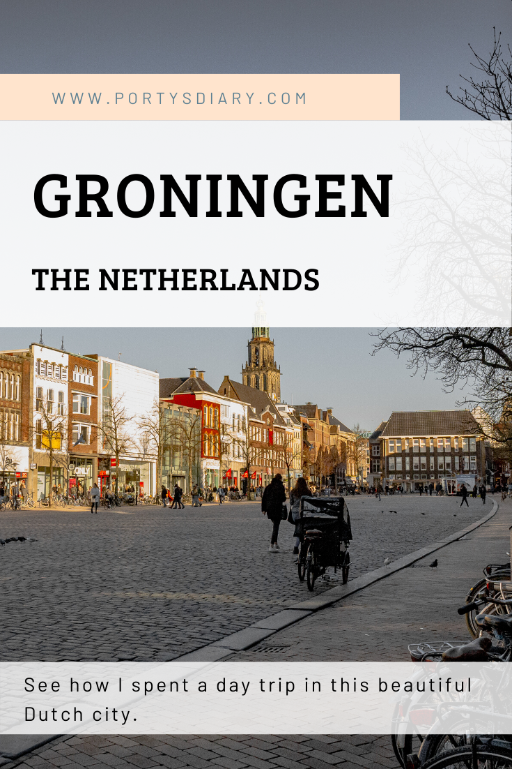 Day trip to Groningen, the Netherlands. How to spend a day in this beautiful Dutch city.