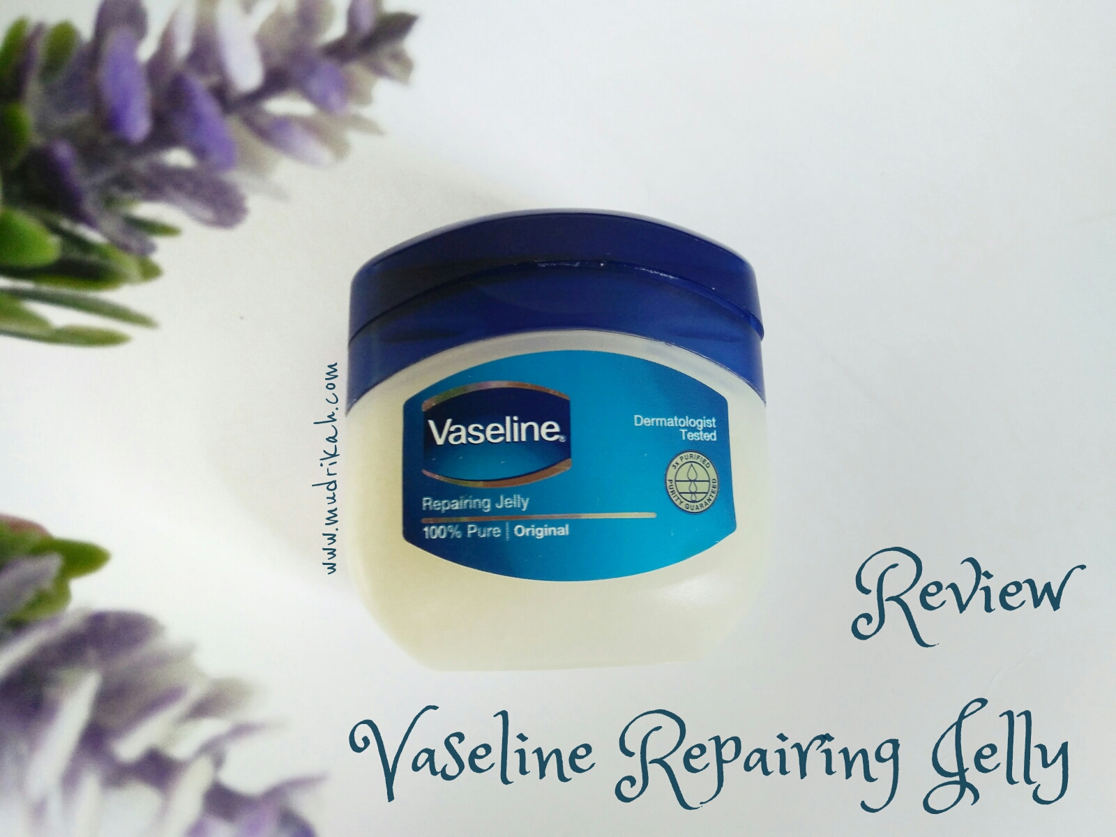 jaga kelembapan alami kulit anda dengan vaseline repairing jelly