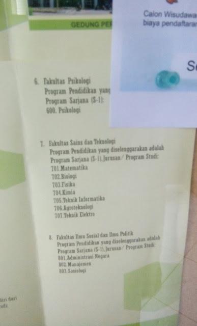 PMB UIN SGD Bandung Jalur Mandiri 2016