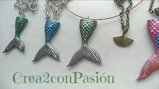 DIY-colgantes-2-cola-de-sirena-pasta-flexible-nacarada-crea2-con-pasion