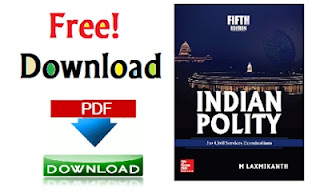Indian Polity - by  M.Laxmikant (5th Edition) PDF