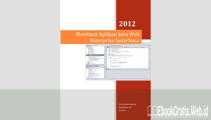 Ebook Membuat Aplikasi Java Web Enterprise Sederhana