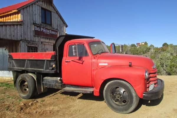 1947 Chevrolet Dump Truck Old Truck