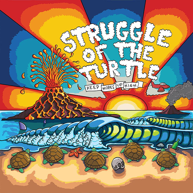 Cover Album Struggle of the Turtle