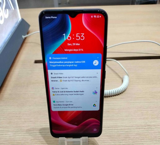 Cara Hapus Demo Phone Realme C25 RMX3191 via Remote Online