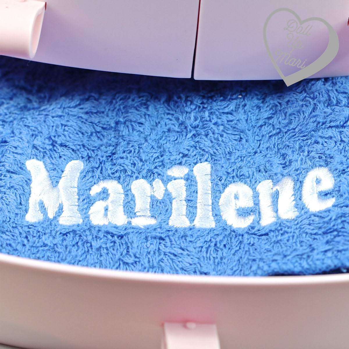 personalized Marilene towel
