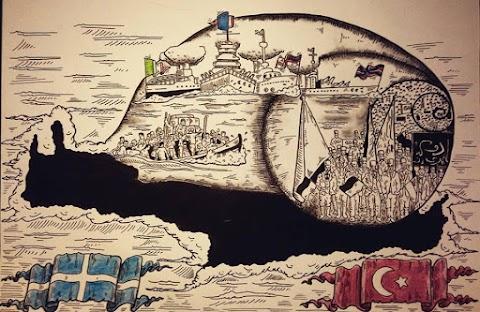 ΑΠΟΚΛΕΙΣΤΙΚΟ:Ποιές οι προθέσεις του Τούρκου καλλιτέχνη;;;Γιατί επέλεξε την Κρήτη;;;;;