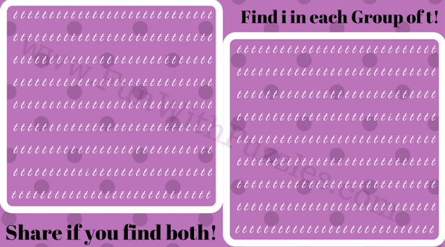 Can You Find Hidden 'i' Picture Puzzle