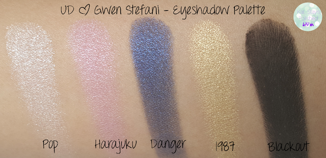 UD x Gwen Eyeshadow Palette | Kat Stays Polished