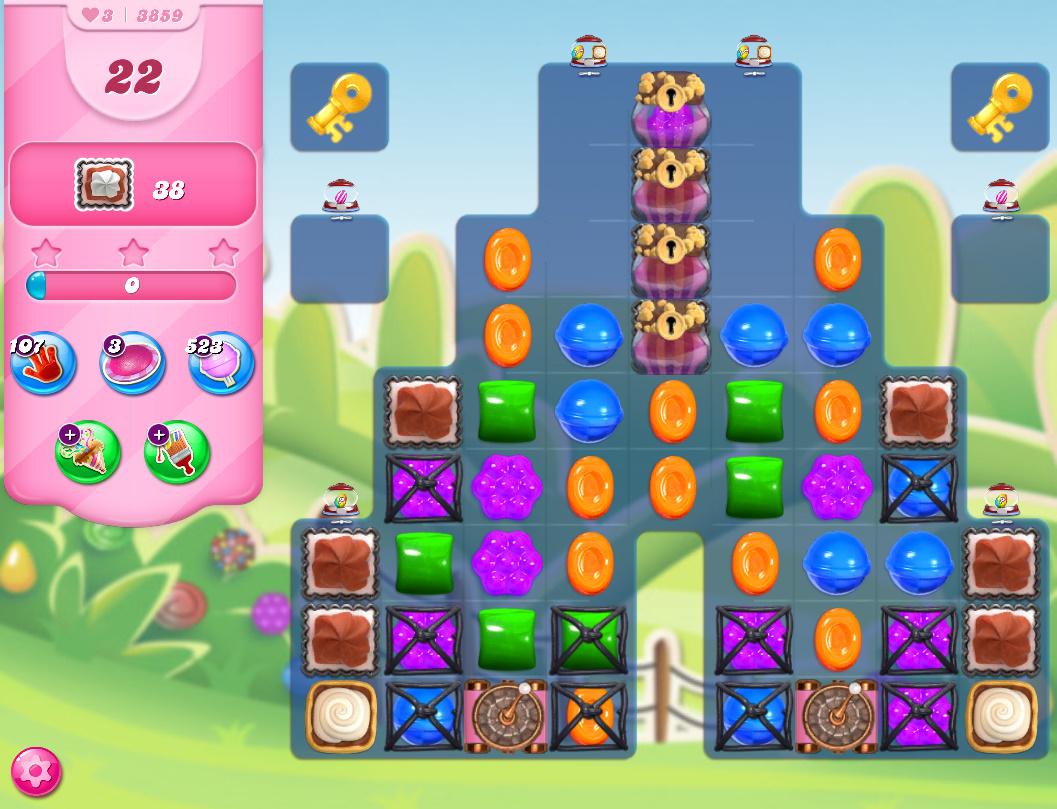 Candy Crush Saga level 3859