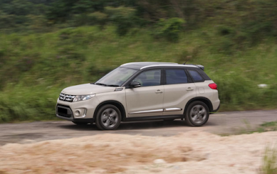 Eksterior Samping Suzuki All New Grand Vitara Indonesia