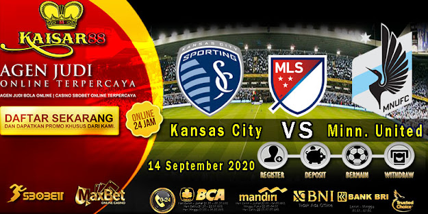 Prediksi Bola Terpercaya Liga MLS Kansas City vs Minnesota United 14 September 2020