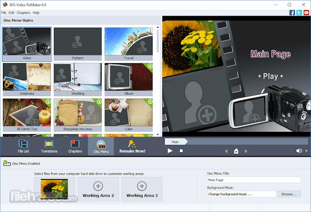 AVS Video ReMaker 6.4.5 Build 250 Full version free