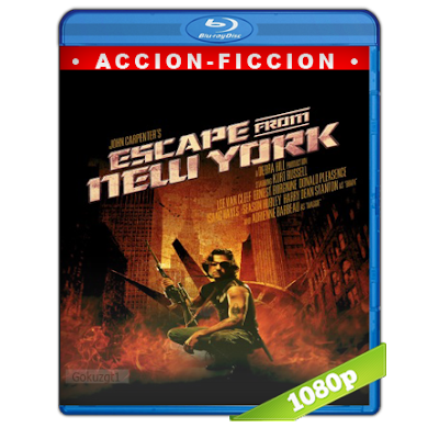 1997 Escape De Nueva York (1981) BRRip Full 1080p Audio Trial Latino-Castellano-Ingles 5.1