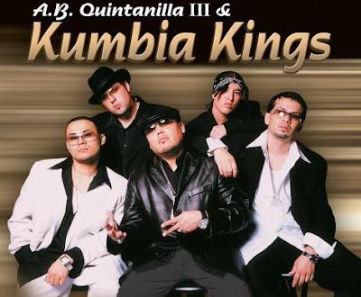 Foto de Kumbia King en portada de disco